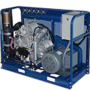 Standard Open Horizontal Compressor Back